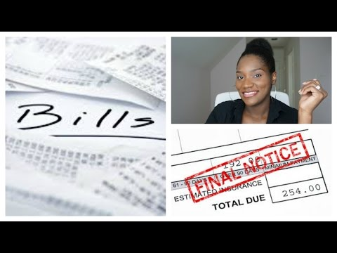 Money Management Monday | What to do if you are behind in Your Bills | FrugalChicLife