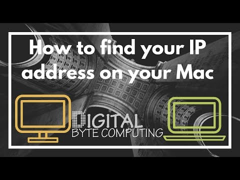 How to find your IP address on Mac running macOS Sierra