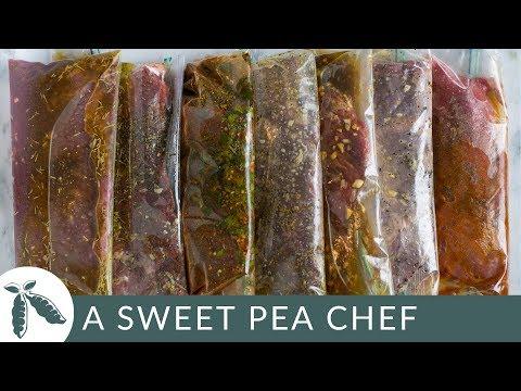 7 Best Steak Marinades (Freezer Ready Meal Prep!)