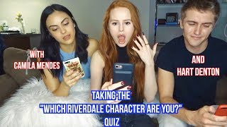 Taking Riverdale Quizzes with Camila Mendes and Hart Denton| Madelaine Petsch