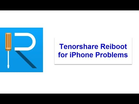 Fix All your iOS Problem with Tenorshare ReiBoot