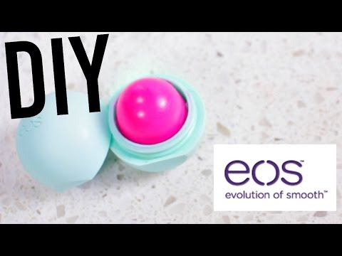 DIY EOS Tinted Lip balm! EASY