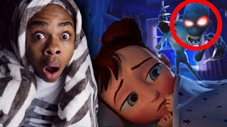 REACTING TO THE MOST SCARY ANIMATIONS #2 (DO NOT WATCH AT 3AM)
