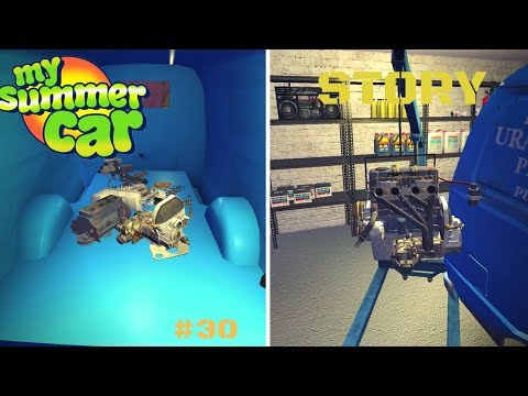 Engine overhaul - Engine Disassembly - My Summer Car Story #30