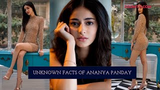 Download 'Student of The Year 2' star Ananya Panday's unknown secrets & facts Video