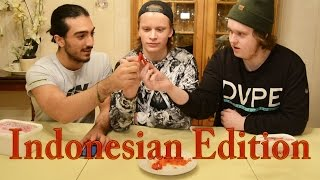 The Spicy Food Challenge: Indonesian Edition