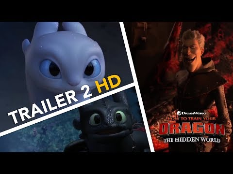 How To Train Your Dragon: The Hidden World - TRAILER #2 [HD]