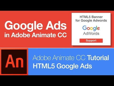 Animate CC: Create HTML5 Banner for Google Adwords OLD!!!