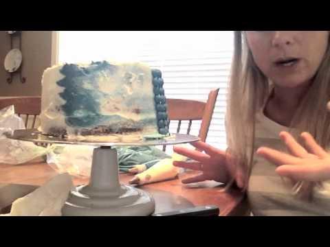 Petal Cake Technique