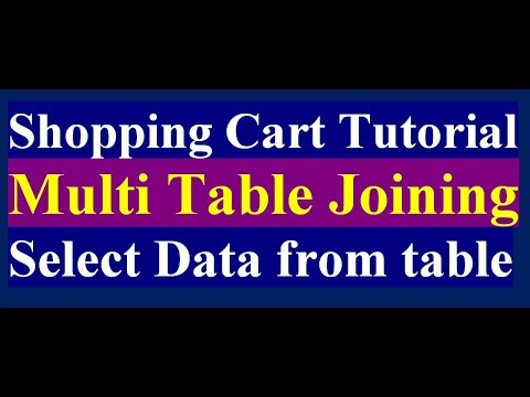 How To Select Product By Joining Two Tables In PHP MySQL | Online Shop | PHP MySQL Tutorial | Part 4