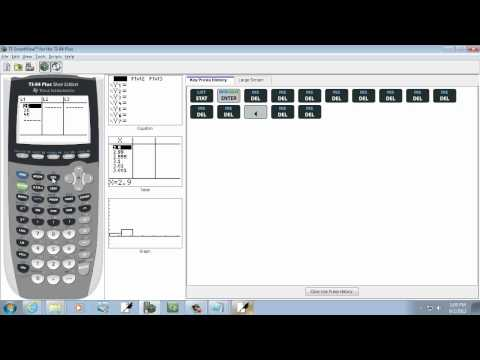 Elementary Statistics: Finding the Sample and Population Mean of Grouped Data on TI-83-84