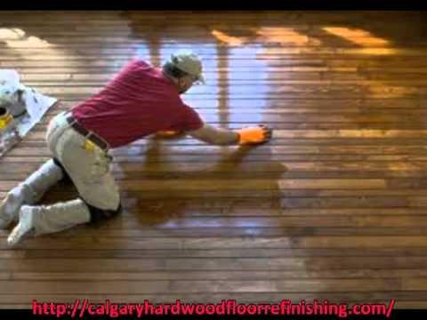 Calgary Hardwood Floor Refinishing Contractor