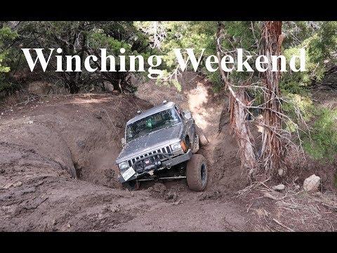 Winch Weekend - Wet Hidden Falls Rock Crawling - Full Version - S2#34