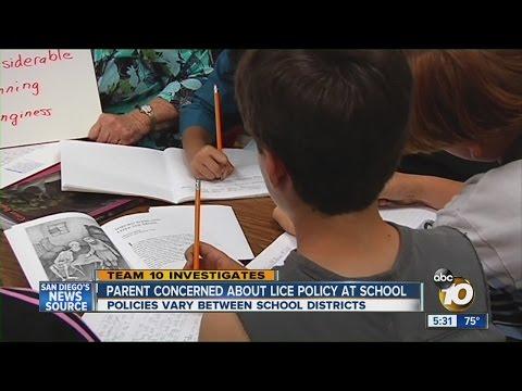 Parent upset over school lice policy