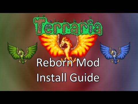 Terraria: Reborn Mod Installation!