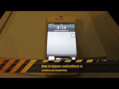 How to bypass Android Lock XT on an iPhone 3gs 4/4s or 5 Best method