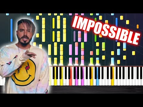 J. Balvin, Willy William - Mi Gente - IMPOSSIBLE PIANO by PlutaX