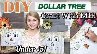 Download DIY Dollar Tree Scarecrow | FALL Decor DIY 2019 | FALL CRAFTING | Krafts by Katelyn Video