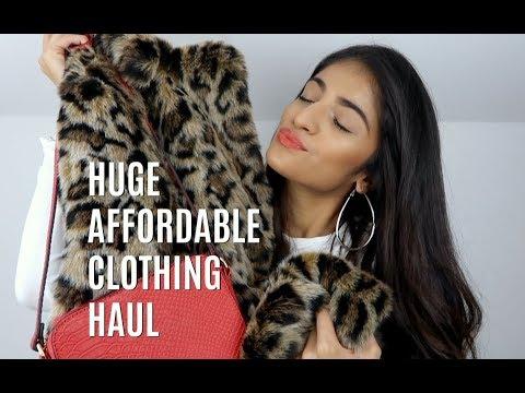 HUGE AFFORDABLE CLOTHING + BEAUTY HAUL | Kim Mann