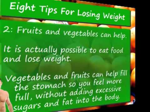 Video 5 8 Weight Loss Tips for Weight Loss Success