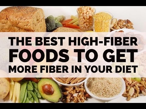The Best High-Fiber Foods To Get More Fiber in Your Diet