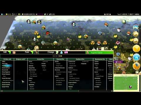 Civilization 5 Cheats Brave New World- Ingame Editor Guide