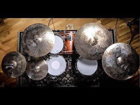 Istanbul AGOP Signature Series Cymbals Drum Demo