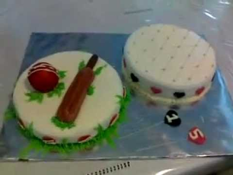 bat and ball cake (cake for twins)