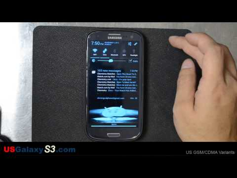USGalaxyS3.com - Samsung Galaxy S3 Karate Chop to Screenshot Tutorial and the Boring Way