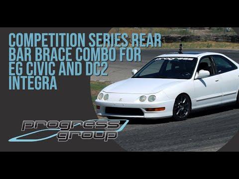 Progress Integra Rear Bar Brace Install