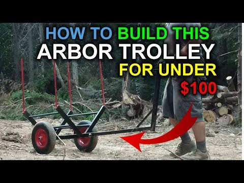 How to Make Your Own Arbor Trolley (Stein Brand)