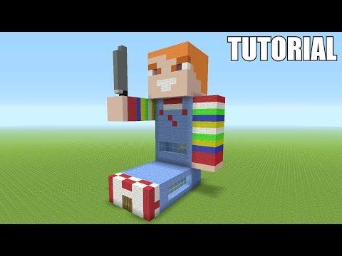 Minecraft Tutorial: How To Make A KILLER CHUCKY DOLL