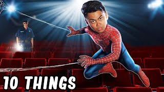 Download 10 Things Not To Do In The Movies Theater Part 2 (Spider-Man) Video