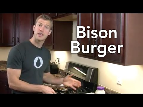 How to Make Bison Burgers-Transform Your Kitchen-Episode #28