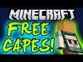 HOW TO GET A FREE MINECRAFT CAPE 2016 (1.7/1.8/1.9) How to Get a FREE Minecon Cape / Optifine Cape