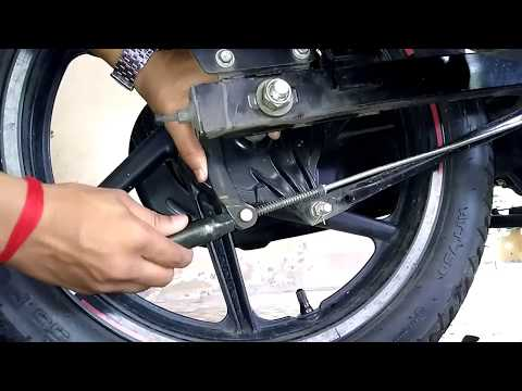 HOW TO ADJUST  BRAKES OF ANY BIKE | REAR VIEW MIRROR SETTING