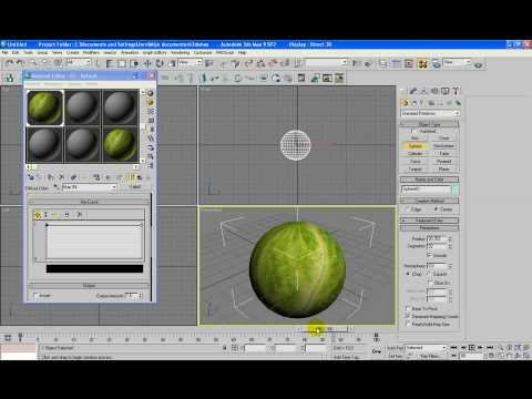 3d Max tutorial: Creating animated textures