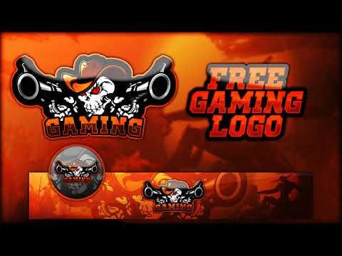 FREE GAMING LOGO PSD (Banner And Avatar)
