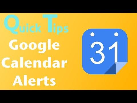 How to Configure Google Calendar Alert Defaults