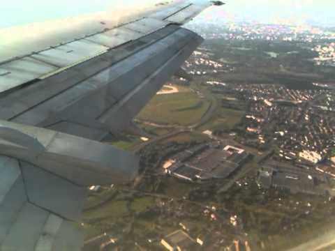 Landing - Paris Roissy Charles-de-Gaulle airport