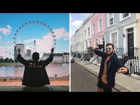 VEGAN AROUND THE WORLD: LONDON PART 1 | THE RAW BOY TRAVELS