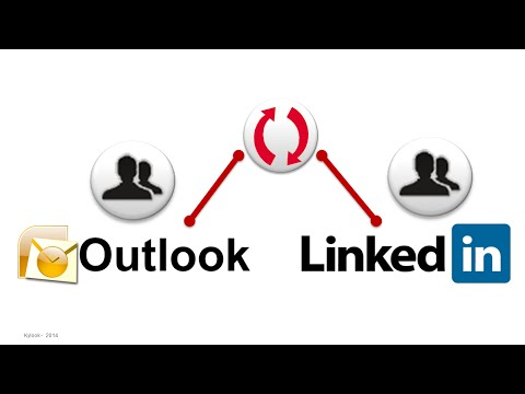 How to SYNC LinkedIn & Outlook contacts
