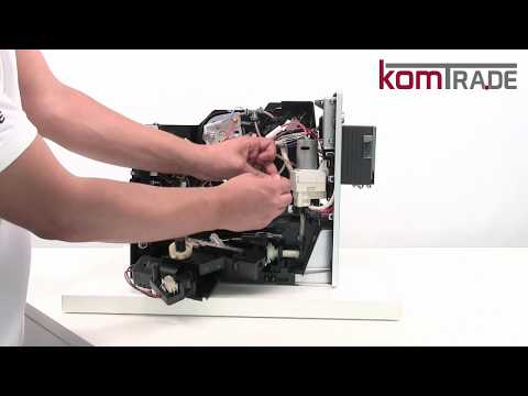 Melitta Caffeo Lattea & Solo Reparaturanleitung Antrieb ausbauen-ersetzen-tauschen-einbauen