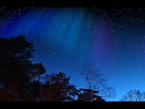 Photoshop Tutorial: How to Make a STARRY NIGHT SKY with NORTHERN LIGHTS
