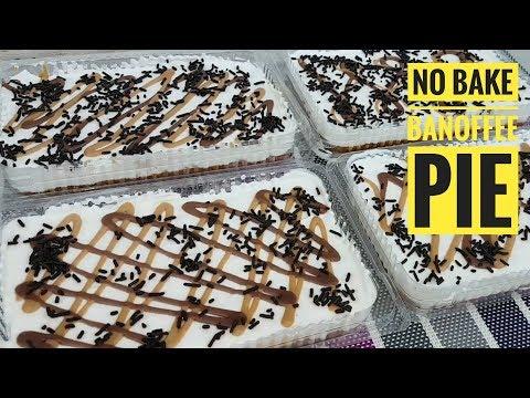 No Bake Banoffee Pie | How to make Banoffee Pie (easy Dessert recipe)