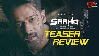 SAAHO Teaser Review | Prabhas, Sujeeth | #Saaho