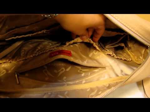Storksak Elizabeth Diaper Bag Close Up