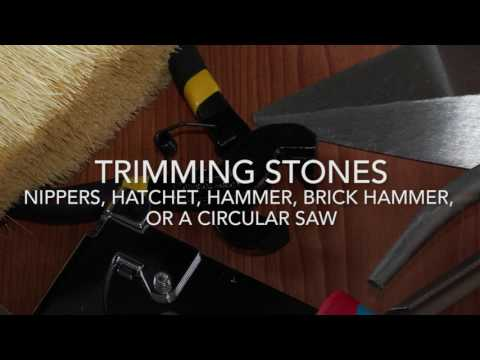 How to Install Stone Veneer, Stacked Stone - ProVia