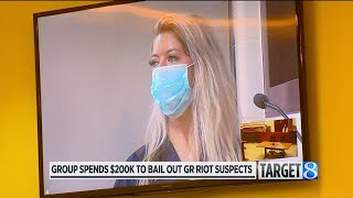 Group spends $200K to bail out GR riot suspects