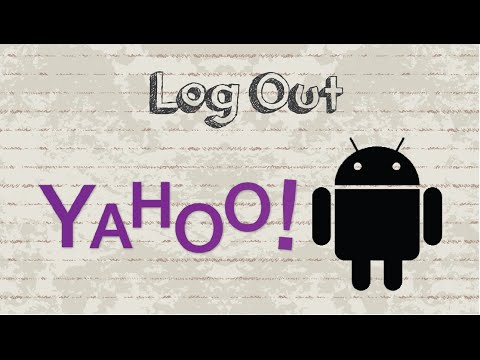 How to logout Yahoo Mail on Android